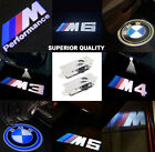 2x CREE LED PROJECTOR CAR DOOR LIGHTS SHADOW PUDDLE COURTESY LASER LOGO FITS BMW
