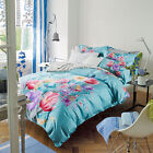 Flower Double/Queen/King Size Bed Quilt/Duvet Cover/Sheet Set Cotton New Arrived