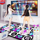2 Person Non-Slip Dancing Step Dance Mats Pads receiver For PC USB $ TV Game NEW