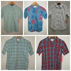 New VANS Button Down Short Sleeve Casual Summer Shirt Boys Youth M  Choose Color