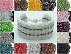 CHOOSE COLOR! 50pcs 5mm 2-hole Es-O Beads® Round Czech Glass $2.94 USD on eBay