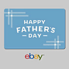 Gift Cards - eBay Digital Gift Card Happy Father's Day - Email Delivery