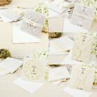 Large Pack of 20pcs Wedding Invitation Cards Table Number Cards Decoration