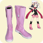 Free shipping  Pokemon little light platinum cosplay shoes costom made MM.236