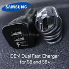 OEM Adaptive Fast Charging Dual-Port Car Charger Samsung Galaxy S8 USB Type C