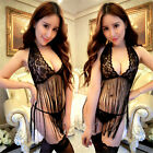 'Sexy Slutty Porn Star Lingerie Tight Asian Pussy Cat MILF Dress G String Outfit