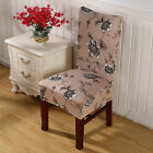 Floral Pattern Beyond Bar Dining Stretch Seat Chair Cover M99G Top Quality