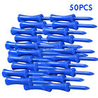 20 50pcs Set  Portable Professional Plastic Golf Tees Step Blue 68mm  2.68inch