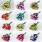 24 Wooden Rose Bouquet - Choose Colour Required - Birthdays - Weddings - Gifts