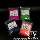 10Colors UV ICE DUB Ultraviolet Sparkle Slim& Bent Holo Fiber Fly Tying Material