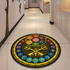 Kingdom Hearts Glass Circle Velboa Floor Rug Carpet Room Doormat Non-slip Mat 12