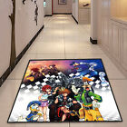 Kingdom Hearts Cute Square Velboa Floor Rug Carpet Room Doormat Non-slip Mat #13