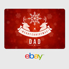eBay Digital Gift Card - Holiday Parents - Merry Christmas Dad - Email Delivery <br/> US Only. May take 4 hours for verification to deliver.