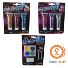 LET'S GLITTER PARTY BODY & FACE PAINT - GIRLS MAKE UP SETS | POUNDTOY FESTIVAL