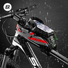"ROCKBROS Bicycle Front Top Tube Bag Waterproof Touchscreen Bag For 5.8"" 6"" Phone"