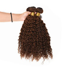 "10""-24"" Virgin Human Hair Weave Bundles  HUMAN HAIR  100g/PC MEDIUM BROWN"