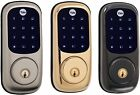 Yale YRD220-NR Real Living Electronic Touch Screen Deadbolt Lock (Standalone)