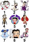 Betty Boop Large Sticky White Paper Stickers Labels NEW £1.99 GBP on eBay