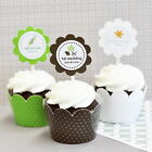 Initialled Depreciation Association Cupcake Wrappers Wraps Toppers Carouse Decorations
