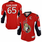 Youth Ottawa Senators Erik Karlsson Reebok Red Replica Player Hockey Jersey
