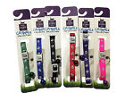 Pet Dog Puppy Collar New Adjustable Neck Strap Nylon Reflective small 6 colours