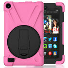 Hybrid Rugged Hard Stand Case For Amazon Kindle Fire HD 8 6th Gen 2016 Tablet