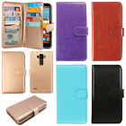 For LG G Stylo LS770/ Vista 2/ G4 Note Flip Wallet TPU Silicone Case Cover