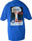 RETRO CIVIL DEFENSE T-SHIRTS FROM ORIG. POSTER DESIGNS  ( FALL-OUT DESIGN)