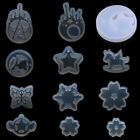 Resin Silicone Pendant Mold Tear Star Ornaments Handmade Jewelry Making Mould