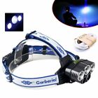 80000LM CREE Headlight 5x XM-L T6 LED Rechargeable 18650 USB Headlamp Head Light