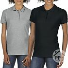 2 Pack Gildan Soft Style Ladies Polo Shirt Top Wholesale Work Wear Plain SALE