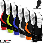 Mens Cycling Bib Shorts Tights Cycle Bicycle Coolmax Anti-Bac Padded All Sizes