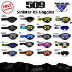 509 Sinister X5 Snowmobile Goggle Closeout!