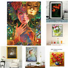 Full Drill 5D DIY Diamond Painting Embroidery Cross Stitch Hanging Decor Flowers