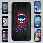 Chicago Cubs Old School Wood Fence Background iPhone & Galaxy Case Cover