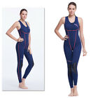 1.5 MM SCR Sleeveless Pants Zipper Vest Conjoined One-Piece Surfing Snorkeling