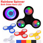 LED Fidget Spinner Tri-Spinner Fidget Ball Toy EDC Hand Finger Spinner Desk