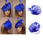 wedding hats royal blue