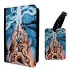 Retro He Man Cartoon Grayskull Luggage Tag & Passport Holder - T964