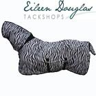 Deluxe Zebra Fly Combo Rug Fixed Neck With Belly Flap and Tail