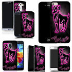 art case cover for many Mobile phones -  pink aries silicone