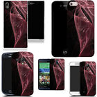 hard back case cover for many mobiles -  	swirling pink