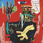 "35W""x35H"" UNTITLED 1983 ERNOK by JEAN-MICHEL BASQUIAT Repro - CHOICES of CANVAS"