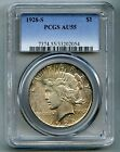 1928 S Peace Silver Dollar -- PCGS AU 55 --  Free Shipping in USA!!
