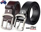 Vintage Genuine Leather Top Grade Quality Casual Suiting Dress Pin Buckle Belt