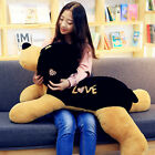 Giant 43inch Animal Plush Dog Pillow Big Stuffed Soft Simulated Puppy Dog Toys