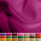 100% Pure Silk fabric Habotai - 8 mommy - Multiple Colours - 45