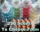 Wax Tart Melts 8 oz  10 pc Scallop Shape Candle 250 Scents - Pick Your Favorite