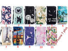 For iPhone 7 plus 11 Patterned Leather Stand Strap Wallet Case With Card Pocket