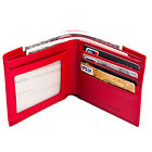 RFID Pocket Wallet for Women Leather Slim Bifold ID Credit Card Protector Holder